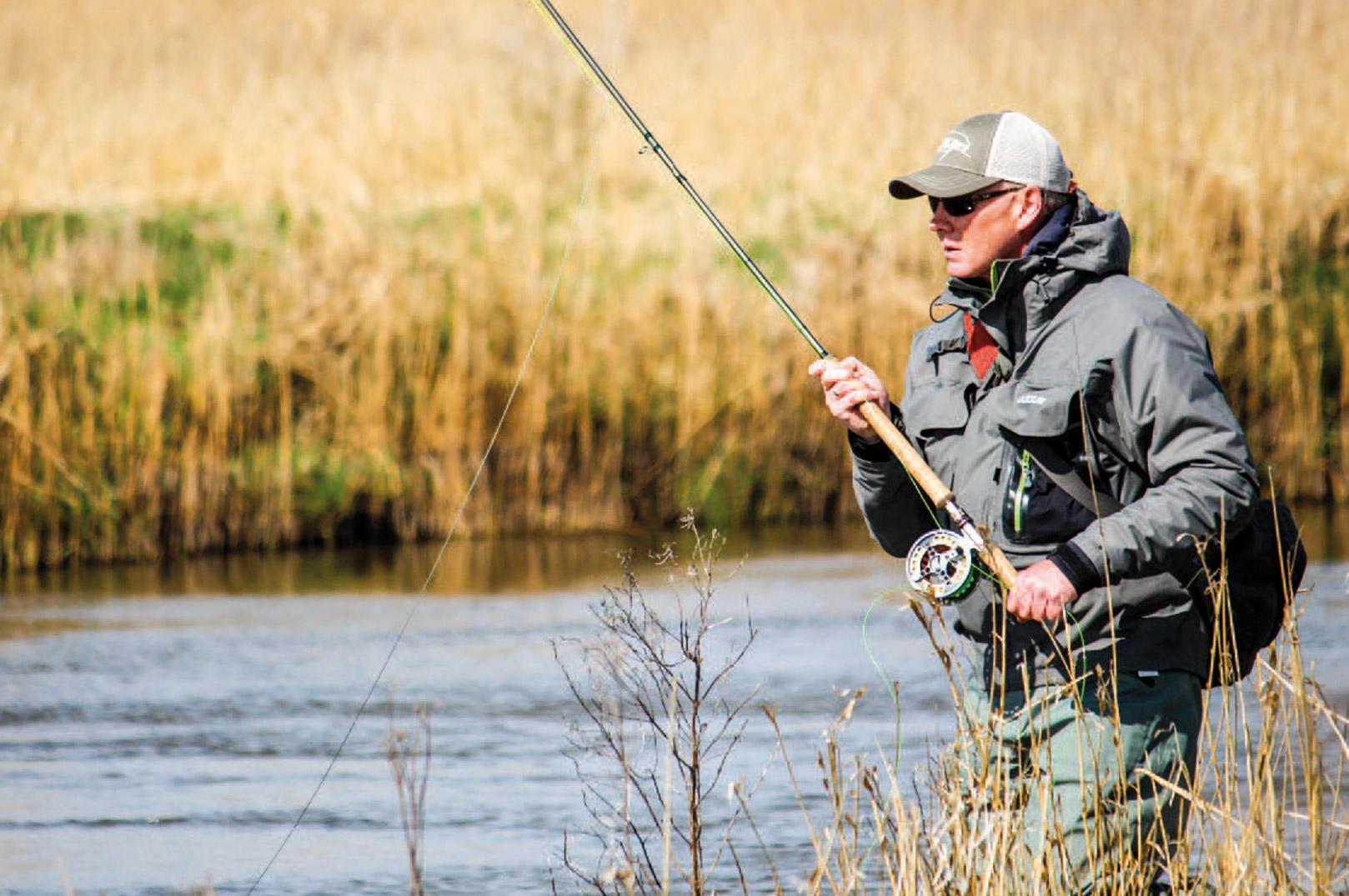 Korte skydehoveder er perfekte til vores danske åer og giver mere fisketid siger Kim.