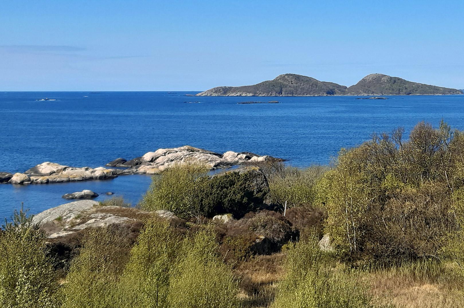 De sydnorske kysteområder byder på fantastiske fiske- og naturoplevelser.
