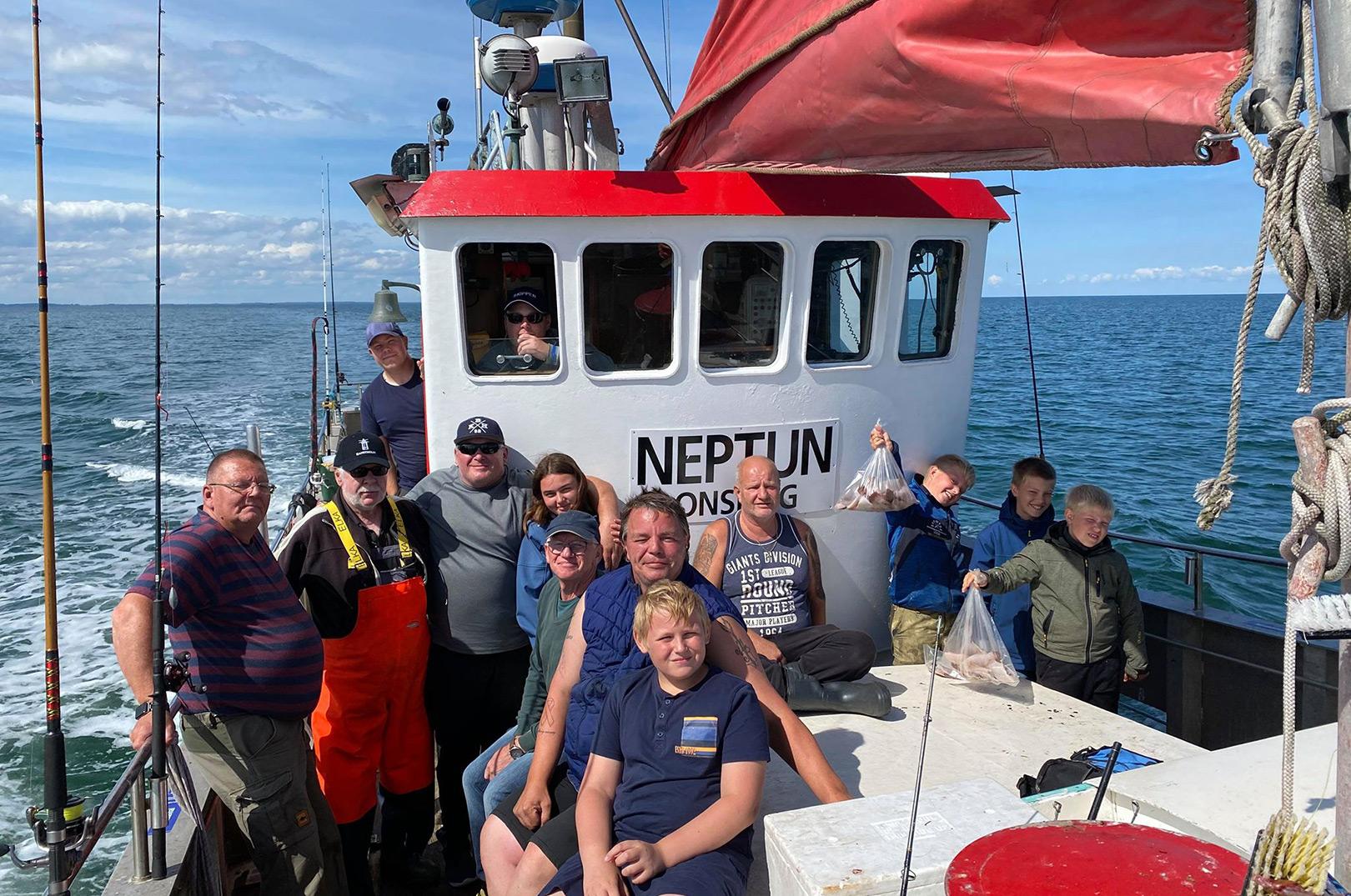 Happy Fishing på Neptun