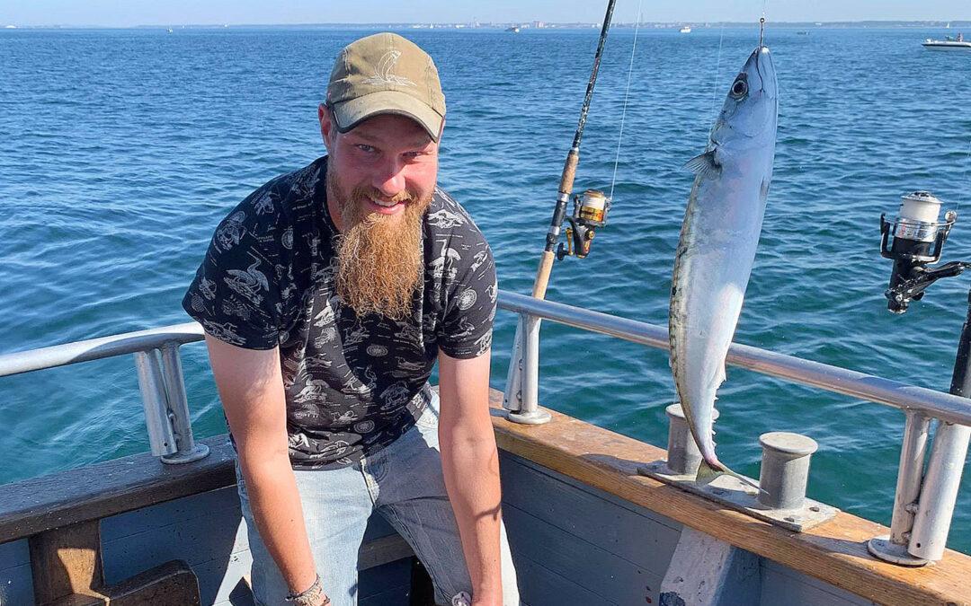 Der er fuld fart på makrellerne i Øresund