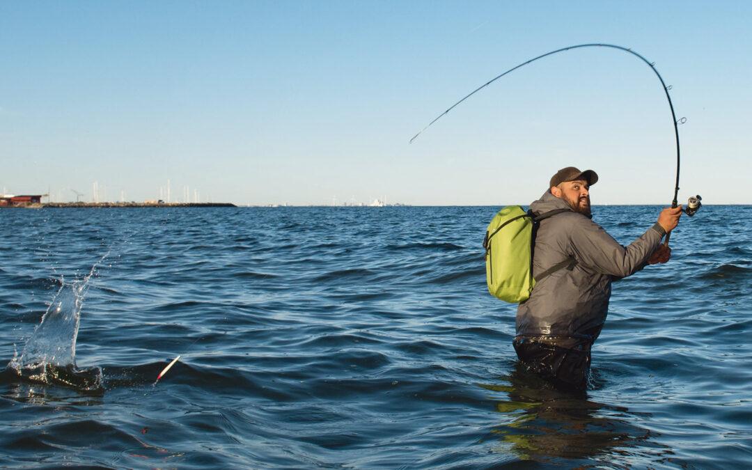 Gennemløberen sendes på langfart, i jagten på en af Køge Bugts mange havørreder.
