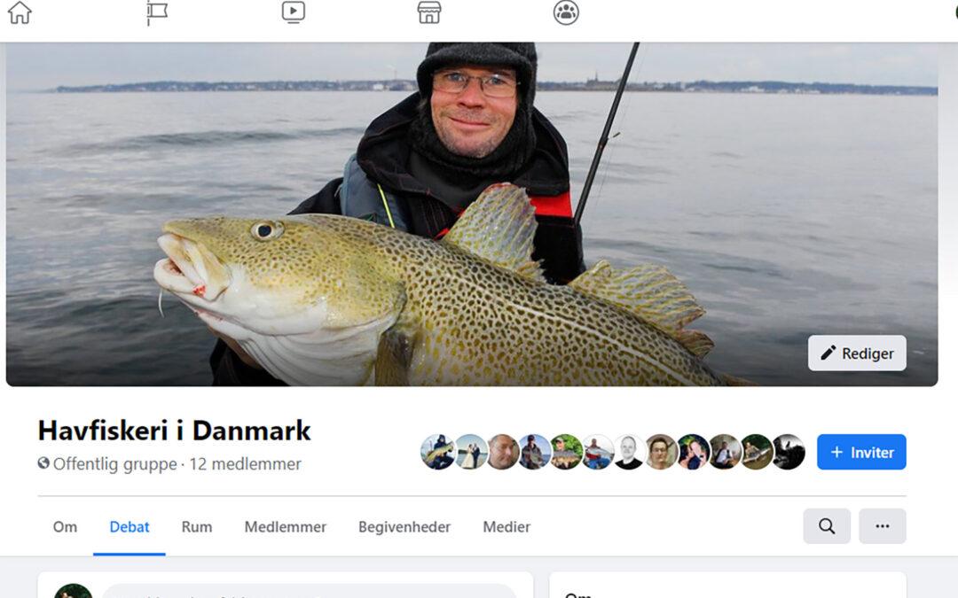 Havfiskeri i Danmark er en ny facebookgruppe for alle danske havfiskere.