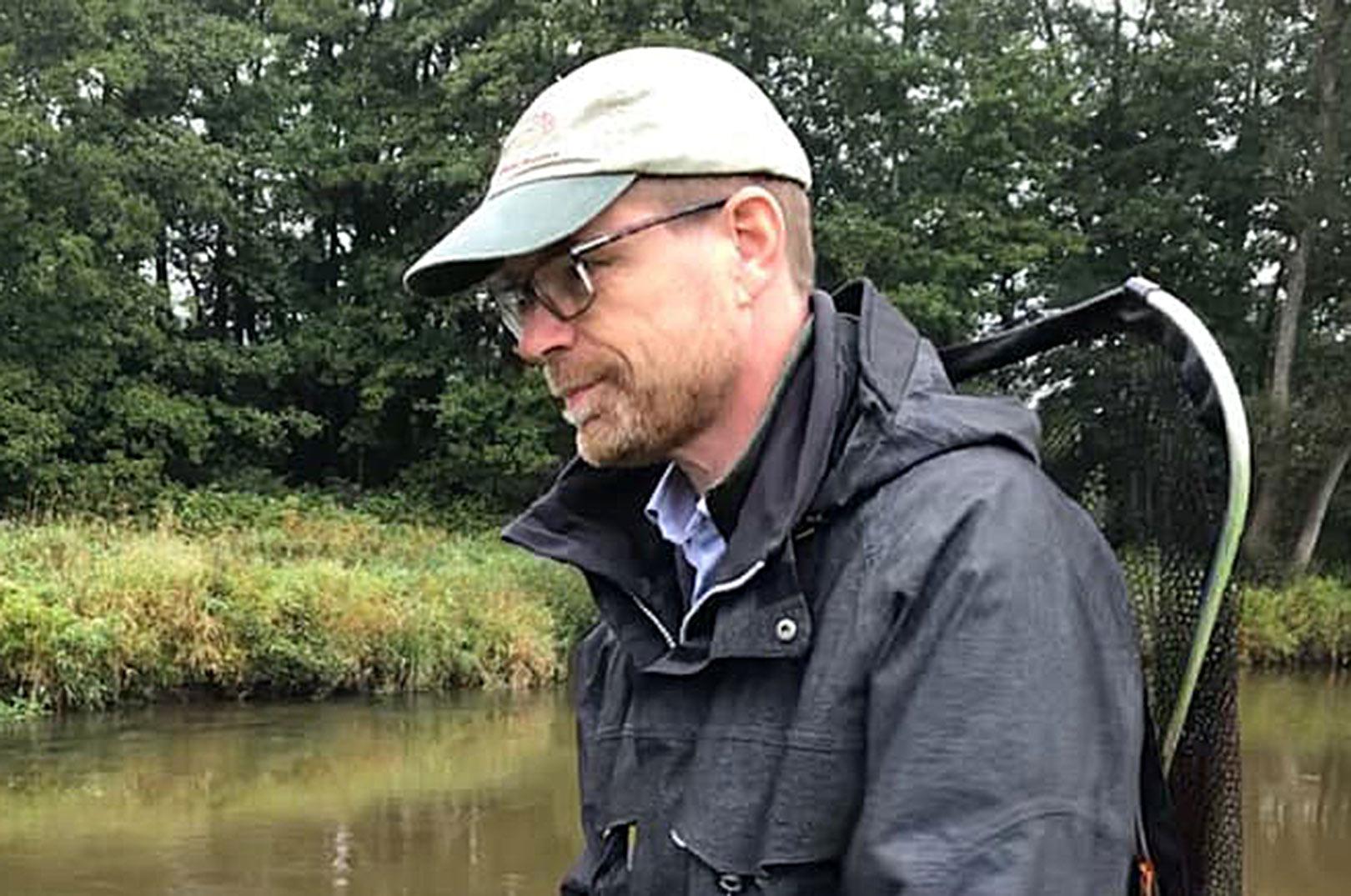 Torben Kaas fra Kokkedal på Sjælland er den nye formand for Danmarks Sportsfiskerforbund.