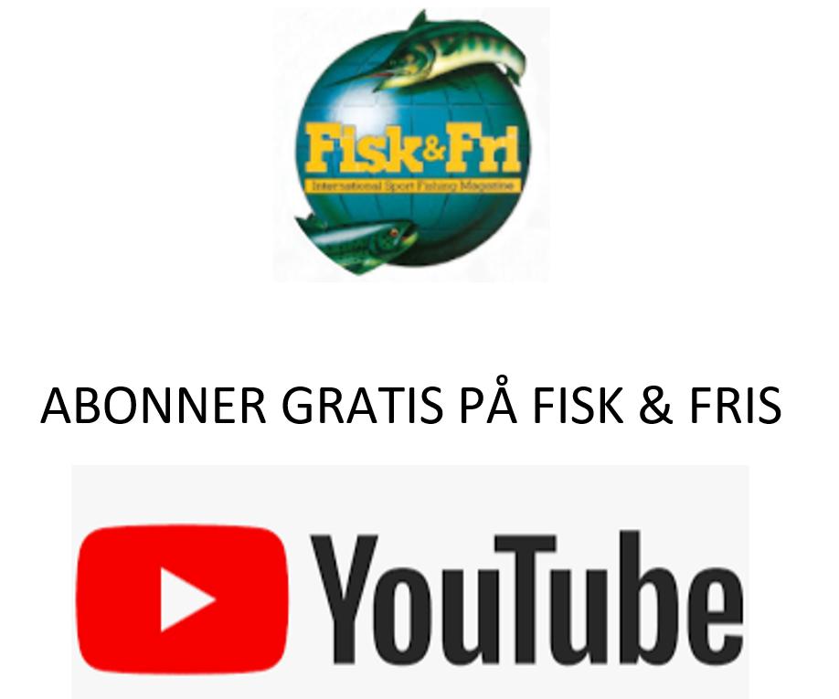 Abonner på Fisk og Fris youtube kanal her