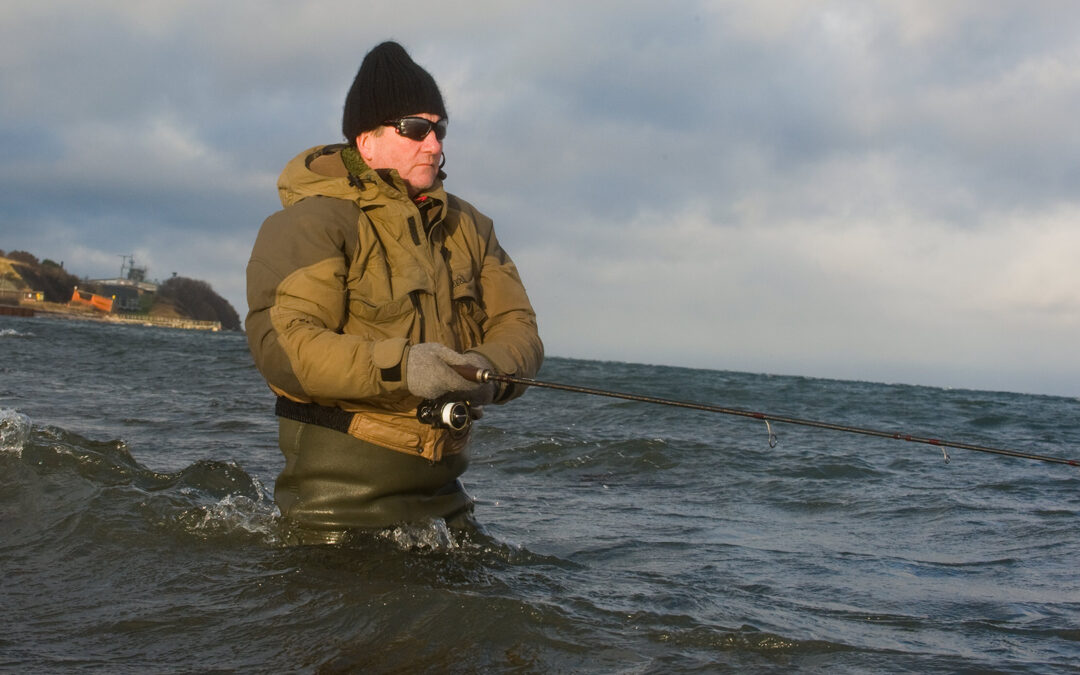 Havørredfiskeri på Sjællands Odde