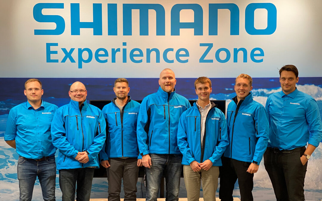 Shimano Nordic fishing team