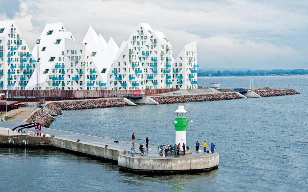 Århus Havn er et smukt sted at dyppe sit molegrej.