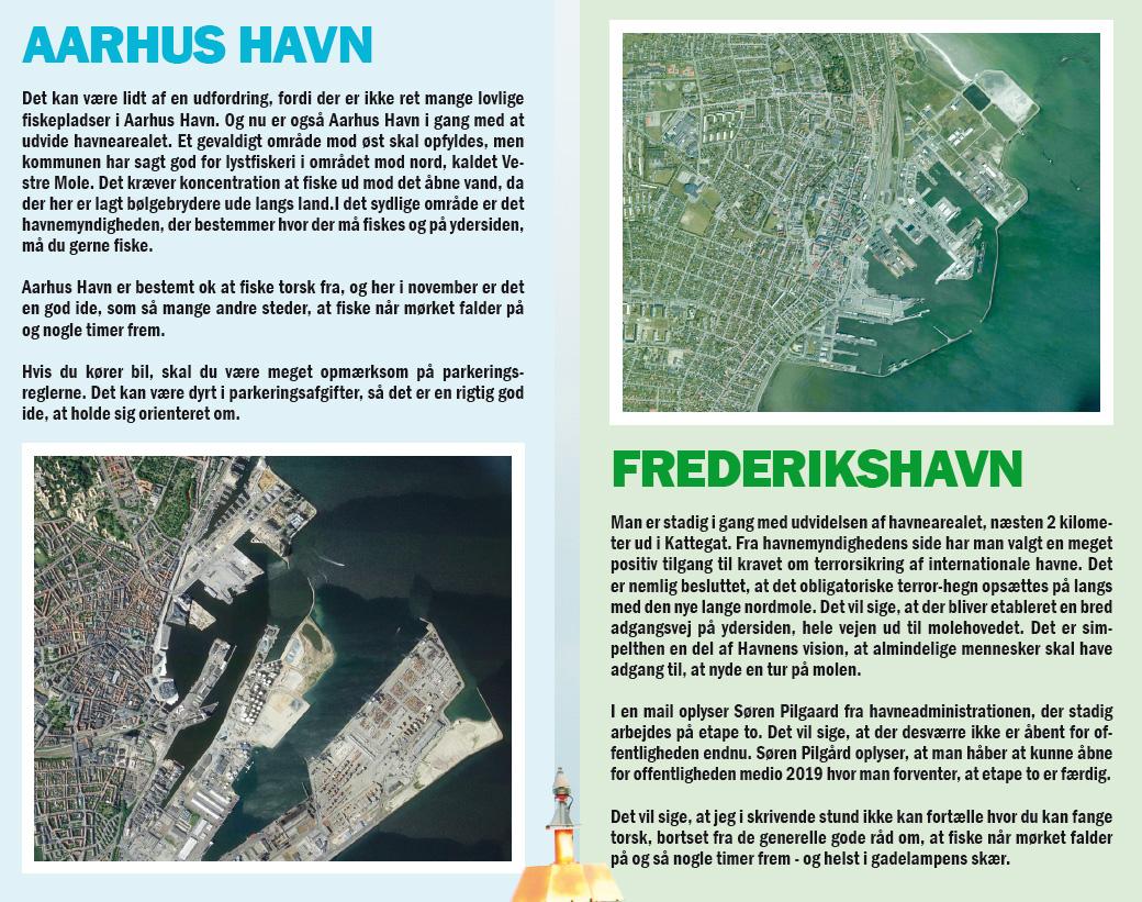Århus Havn og Frederikshavn