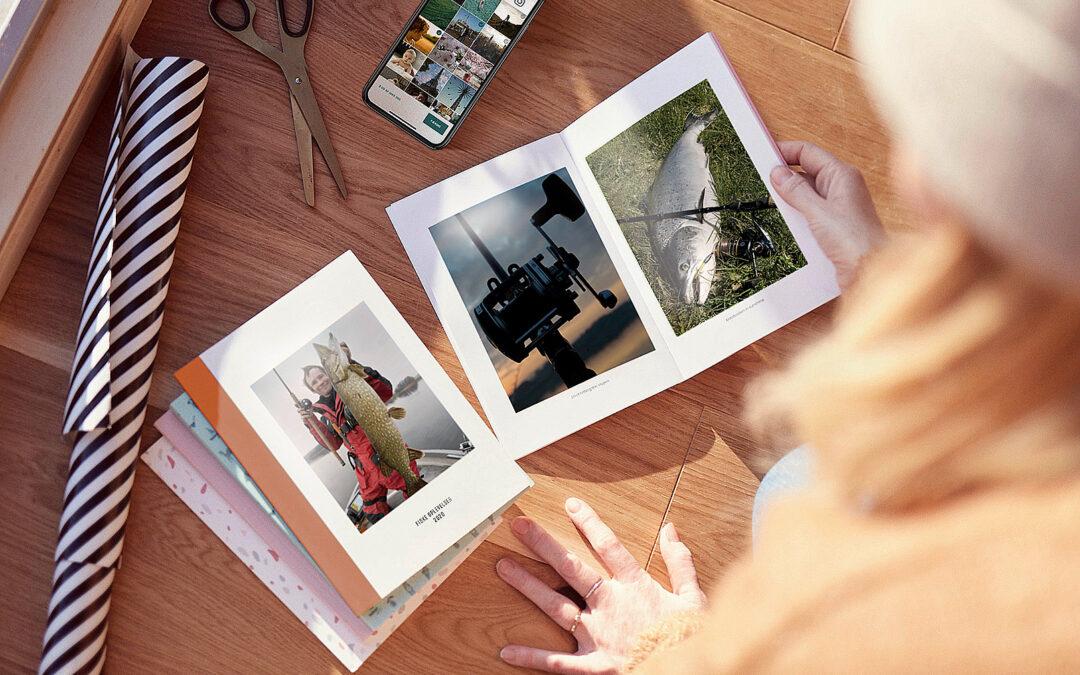 Med den nye app Subbook kan du lyn hur5tigt lave din egen fiskefotobog - direkte fra telefonen