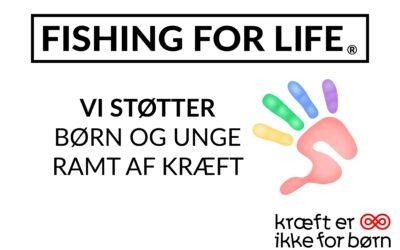 Kræftens Bekæmpelse indleder samarbejde med Fishing For Life