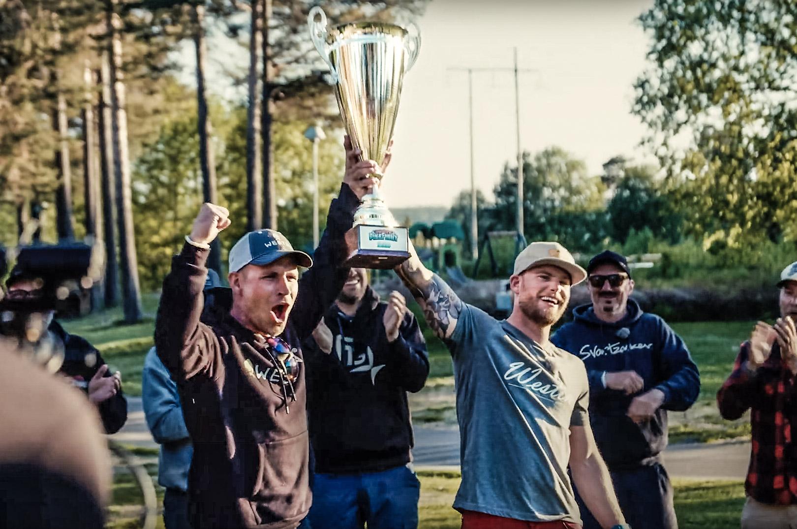 Vinderne af Pike Fight 2020 - Team Westin