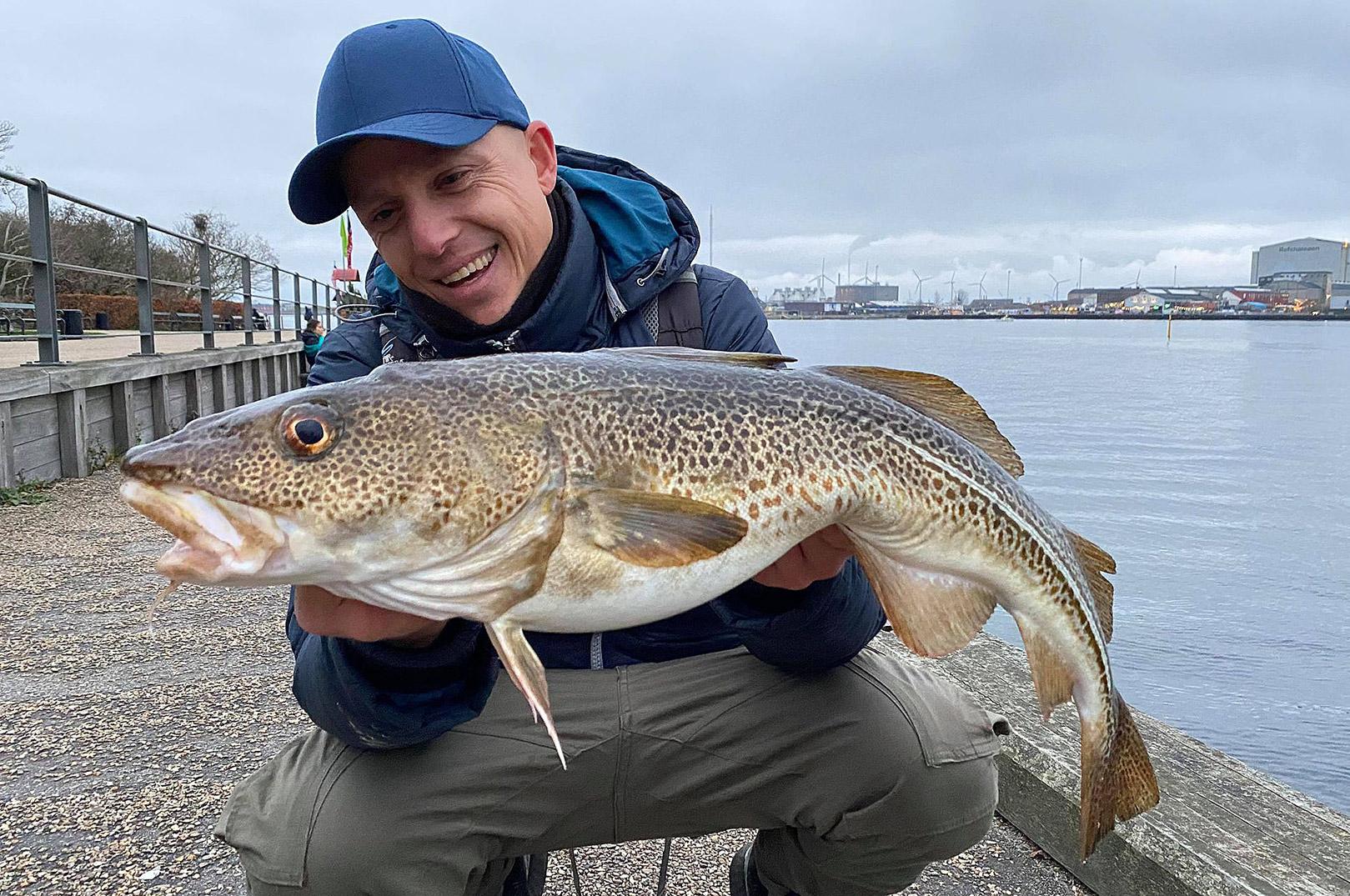Jonas med ny torske PR fra Københavns Havn.
