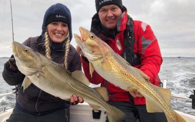 Efter sej og torsk i Langelandsbæltet