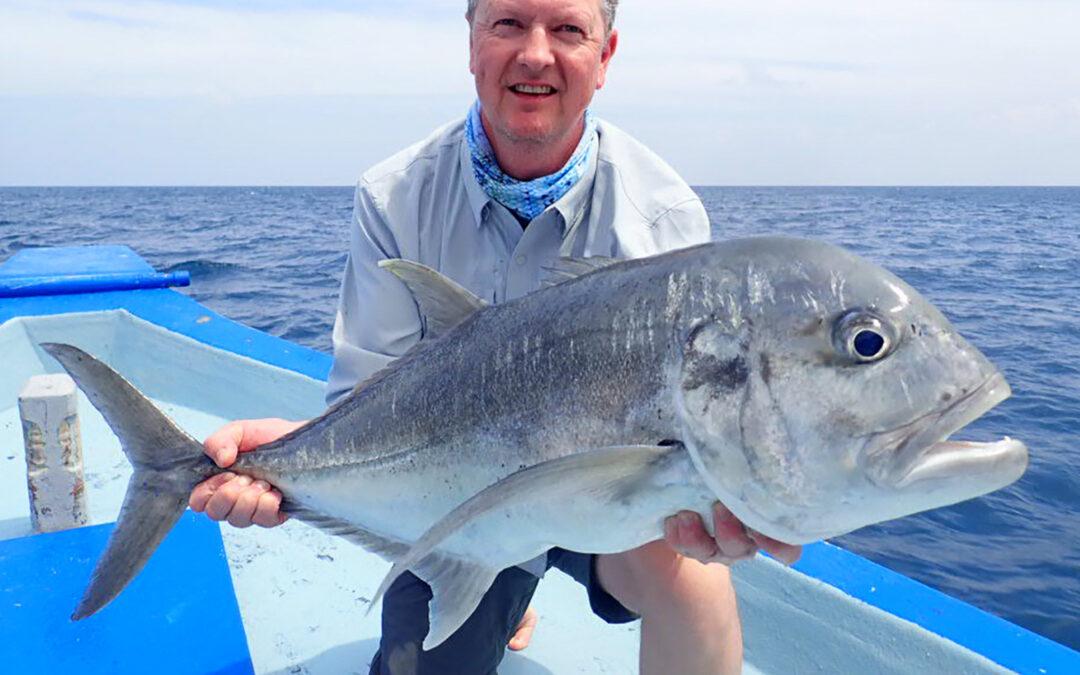 Poul Riboe, der ejer Hvidovres Sport, har en bred erfaringen fra mange forskellige former for fiskeri både i Danmark og udlandet.