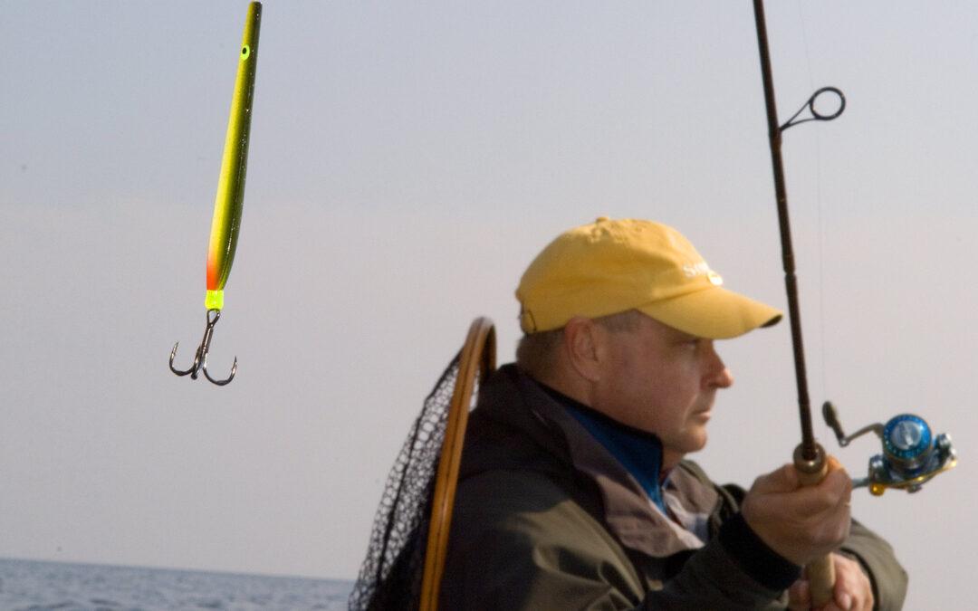 Kystfiskeriet efter havørred udgør en meget vigtig del af dansk lystfiskeri.
