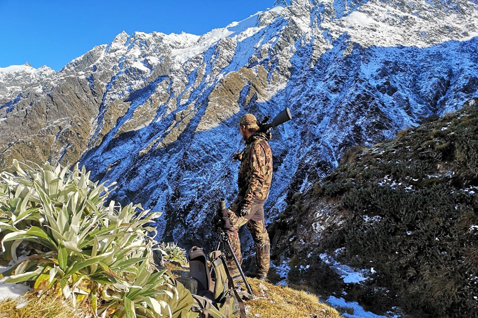 Mads drømmer også om at komme til at guide indenfor jagt - og også her er der mulighed for at lære en masse på ForshagaAkademin.