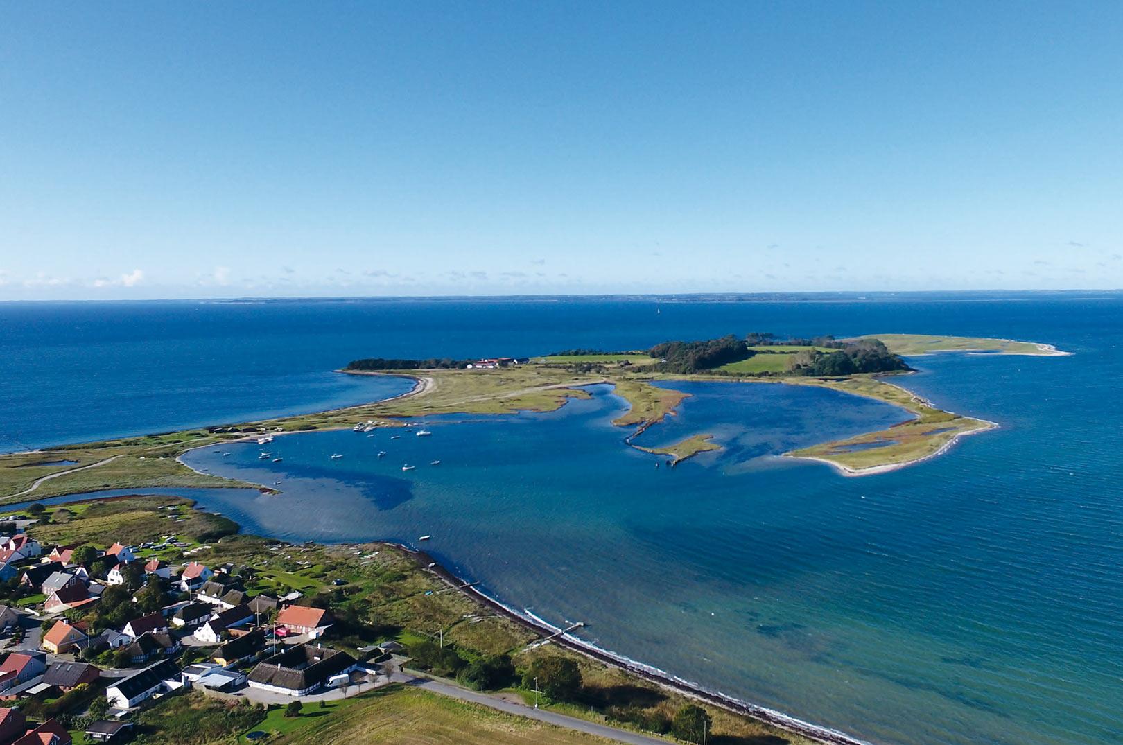 Torø byder på super havørredfiskeri i smukke omgivelser