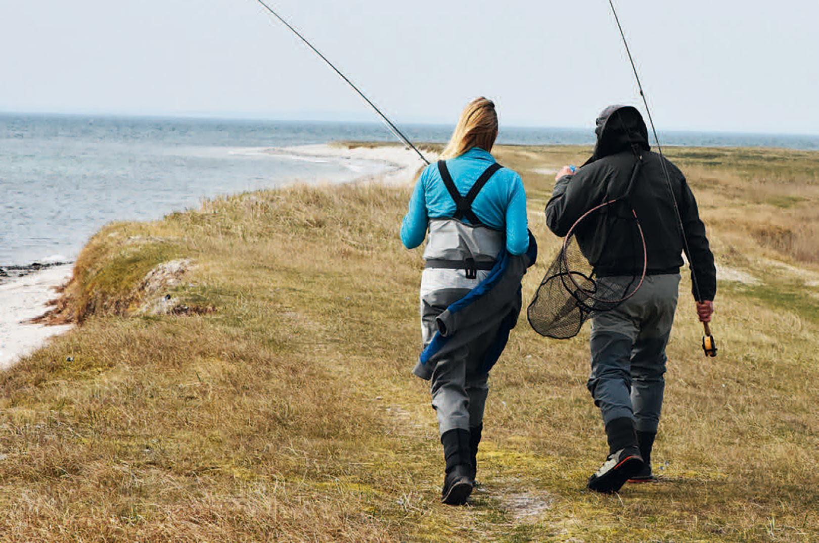 Turen ud til Korset og de andre pladser længst ude på Torø kan være lang, men de er ofte hele gåturen værd.