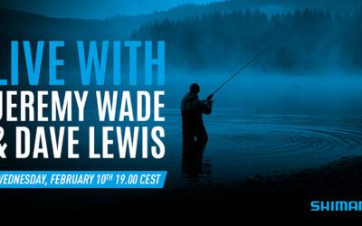 LIVE EVENT MED JEREMY WADE I AFTEN KL 19.00