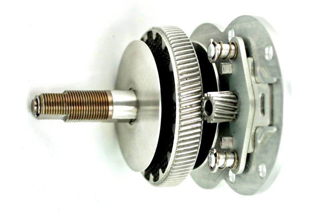 Twinstar bremsen på Accurate er præcisionsmekanik af allerhøjeste kvalitet.Tern