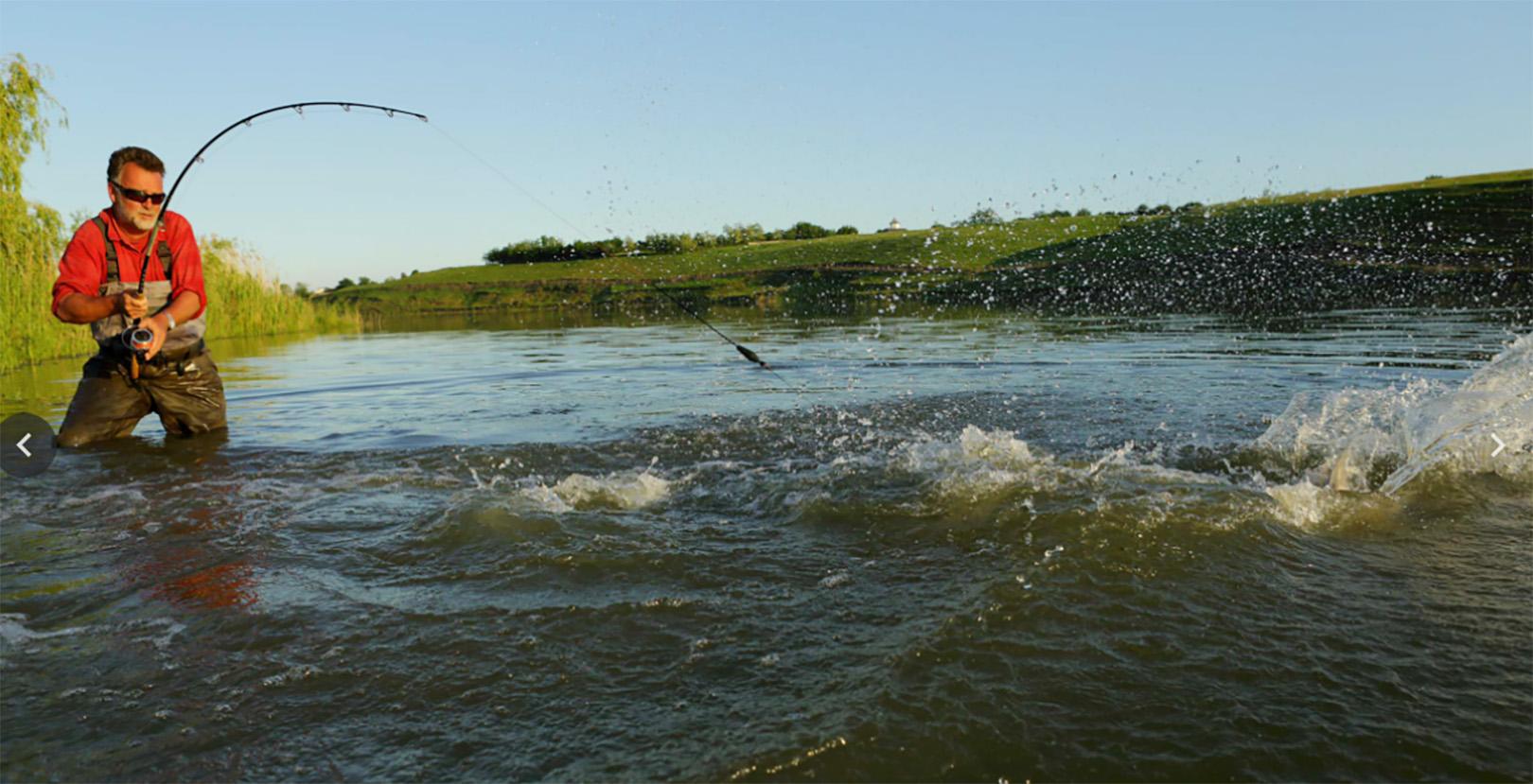 Du skal nok blive spændt godt for ved Sarulesti søen.