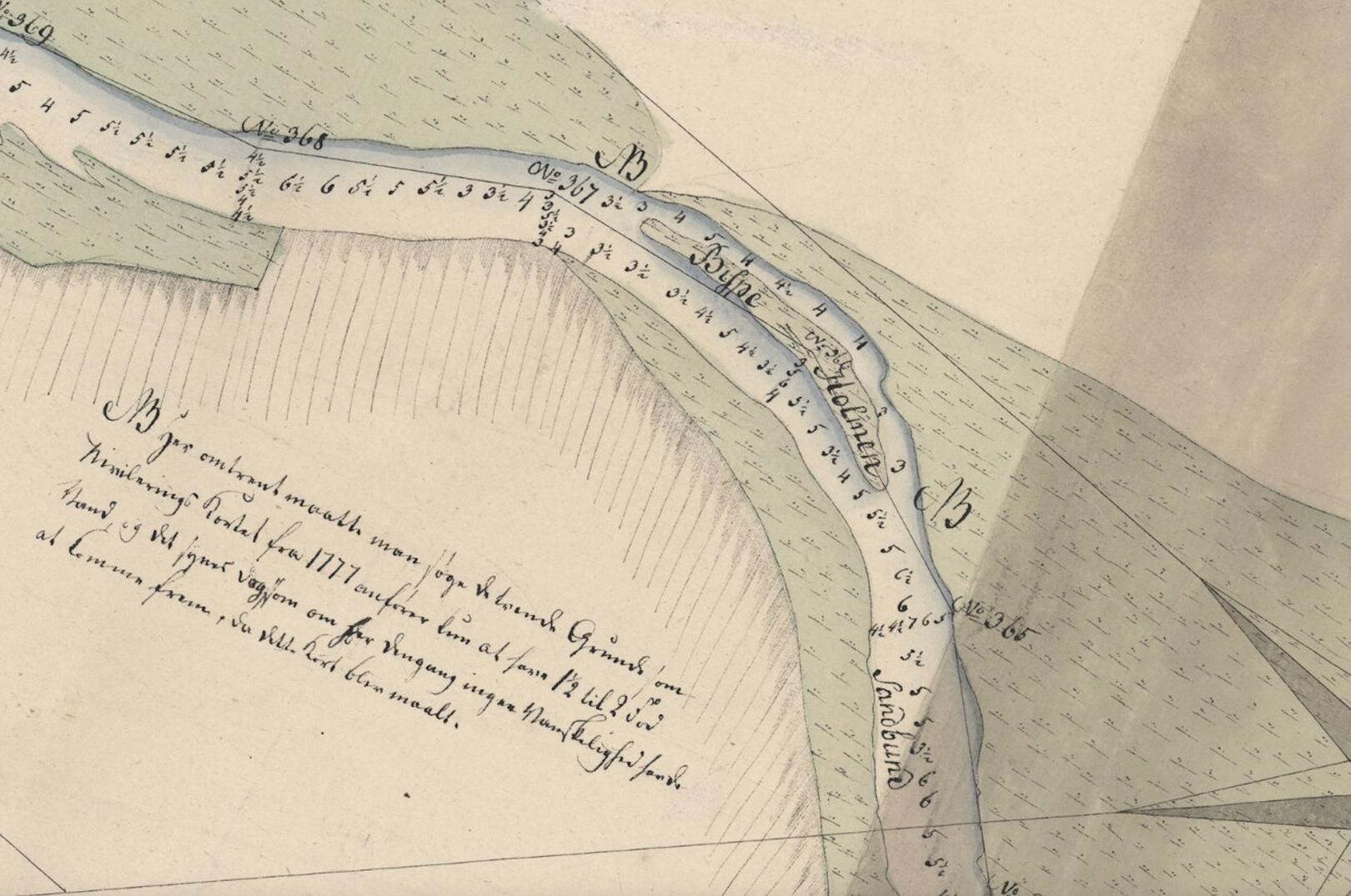 I 17-1800 tallet var Gudenåen en vigtig færselsåre ind til det jyske søhøjland. Af samme årsag blev åen grundigt kortlakgt allerede i slutningen af 1700-tallet.