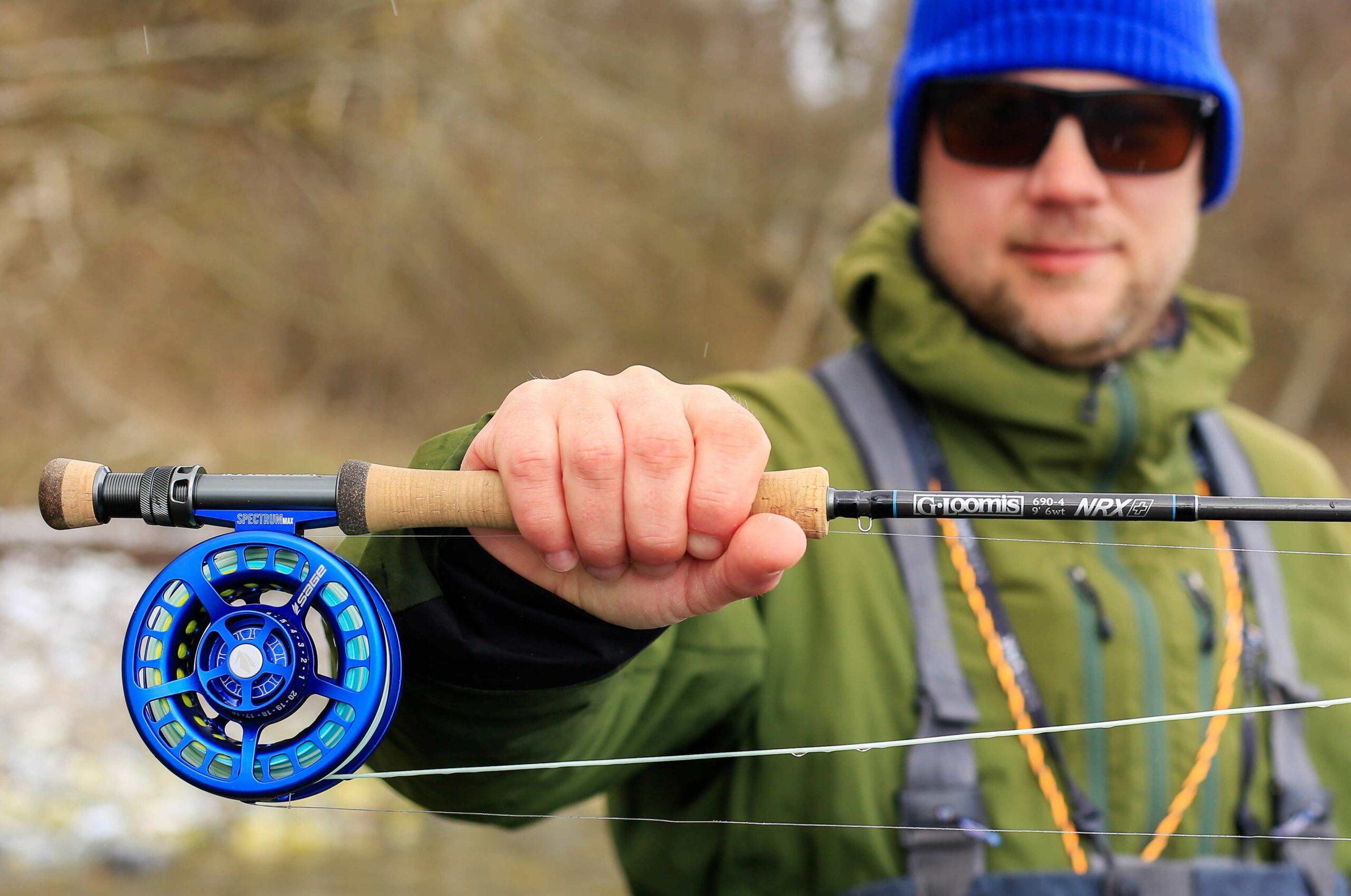 G. Loomis NRX+ er en lækker stang til mange former for ørredfiskeri.