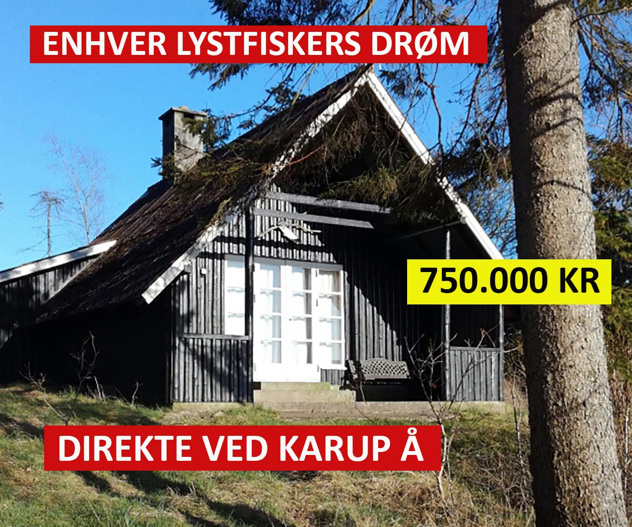 Køb hus ved Karup Å