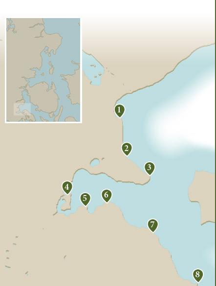 Her kan du se hvor de nævnte pladser ved Aabenraa ligger.