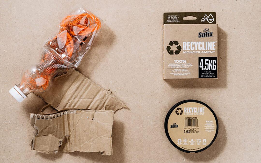 Sufix Recycline er et godt skridt i den rigtige retning mod fiskegre3j af mere bæredygtige materialer.
