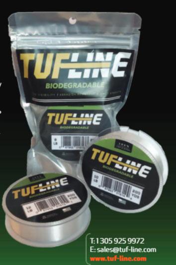 Her kan du se TUF-Lines bud på en line af biologisk nedbrydeligt plast.