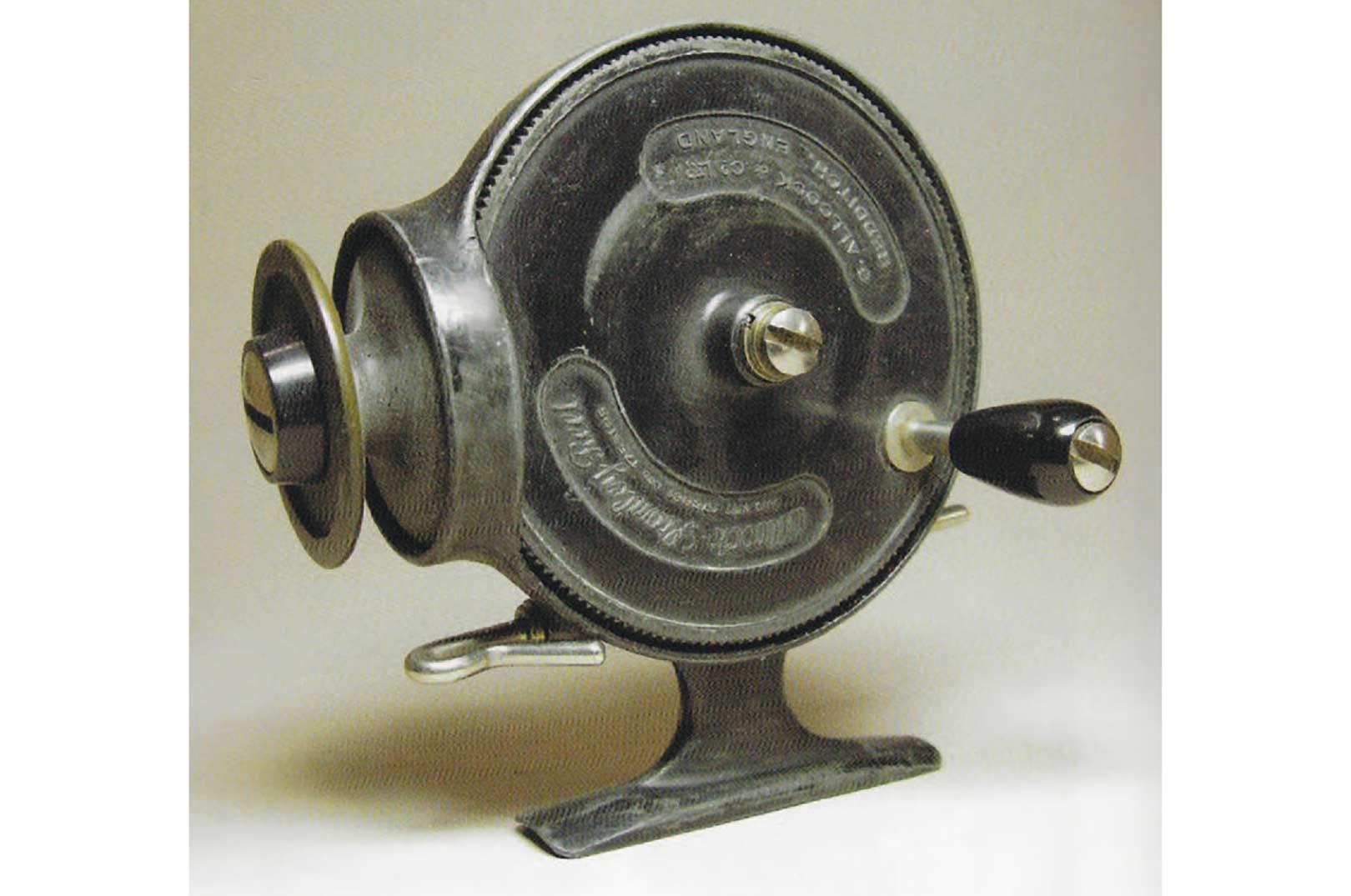 Allcook Stanley blev solgt i mere end 20 år, og var en lidt særpræget udgave af et fastspolehjul.
