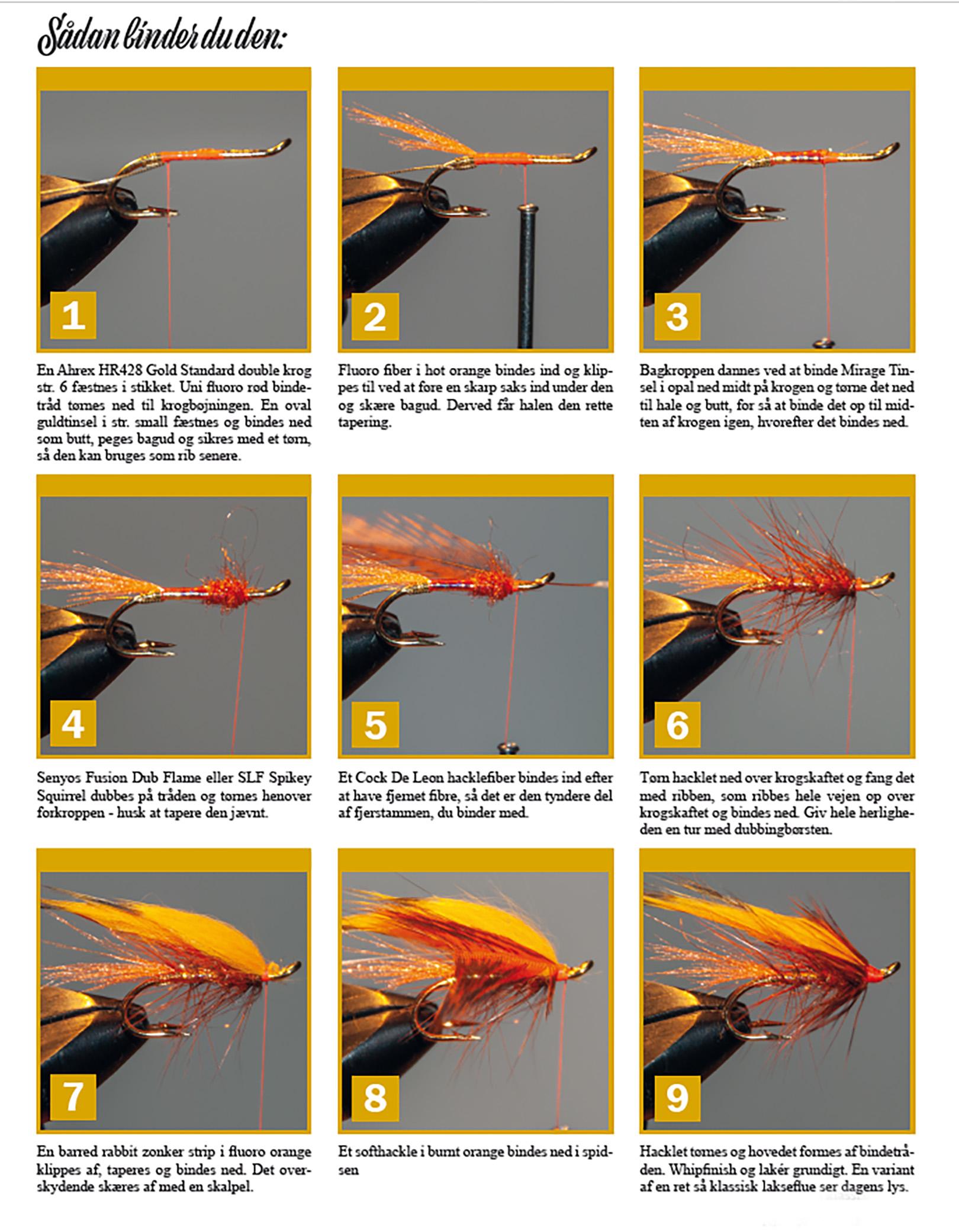 Sådan binder du fluen