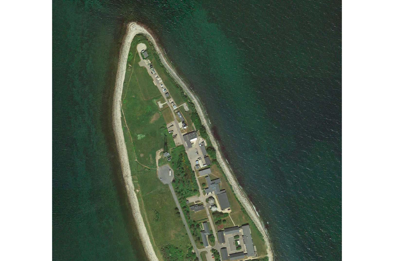 1. Spidsen af Gniben er enden på Sjællands Odde