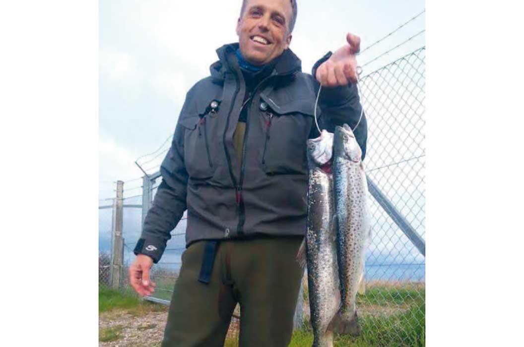 Hans-Henrik Runge fik et par gode fisk på Gniben en tidlig morgen i Juli. Og udfiskede således Fisk & Fris udsendte reporter