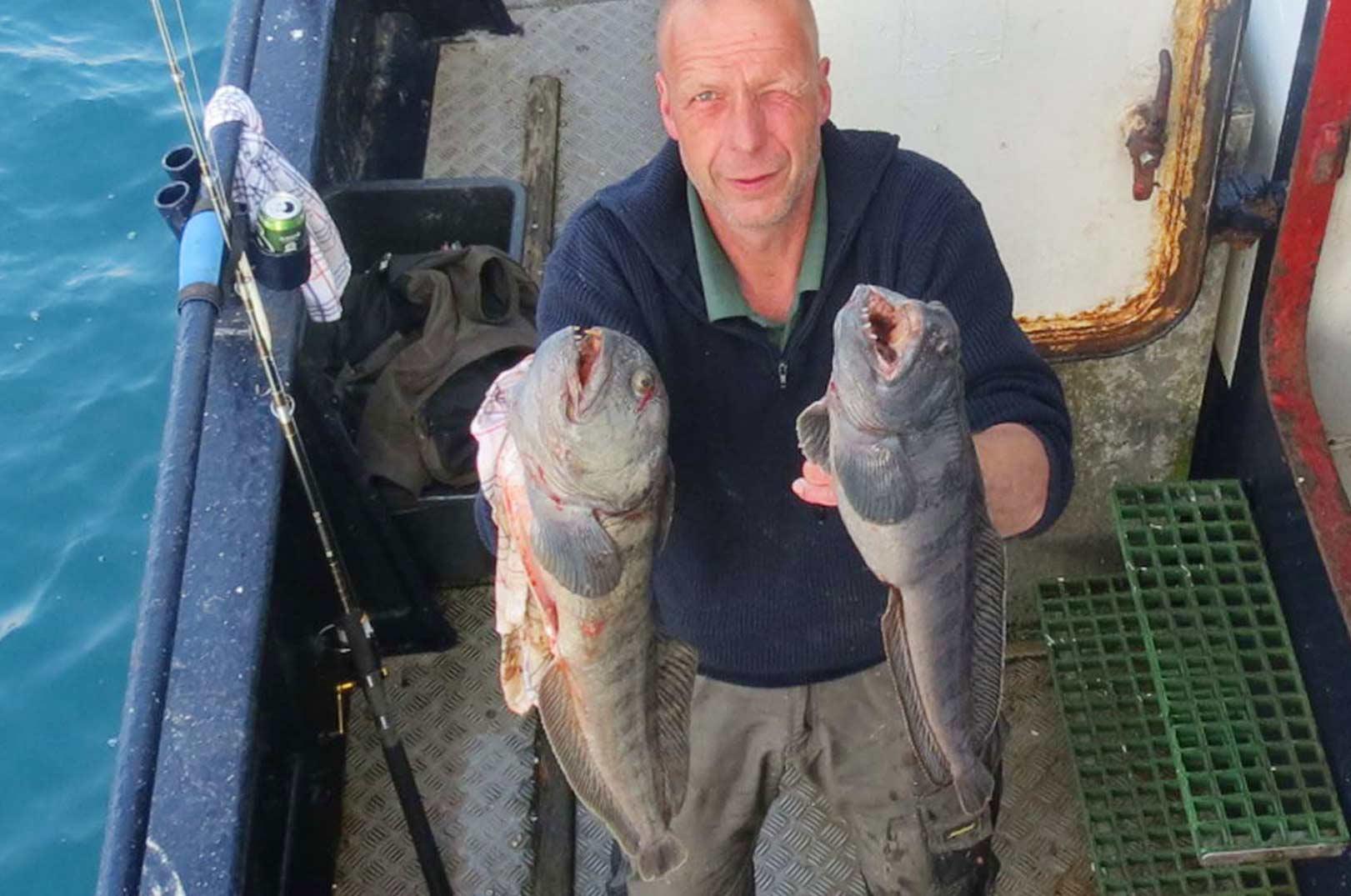 Der blev også fanget flere fine havkat på den sidste tur med MS Nemo fra Ivans Lystfiskeri.