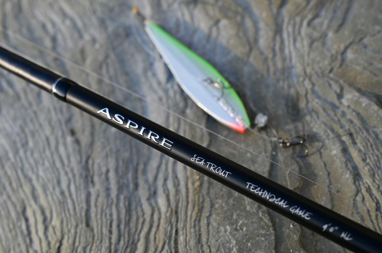 Den nye Shimano Aspire Sea Trout er en super sprød nyhed, der vil kunne tilfredstille selv den mest kræsne feinschmecker.