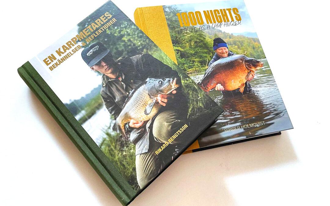 >Bøger om karpefiskeri i Sverige