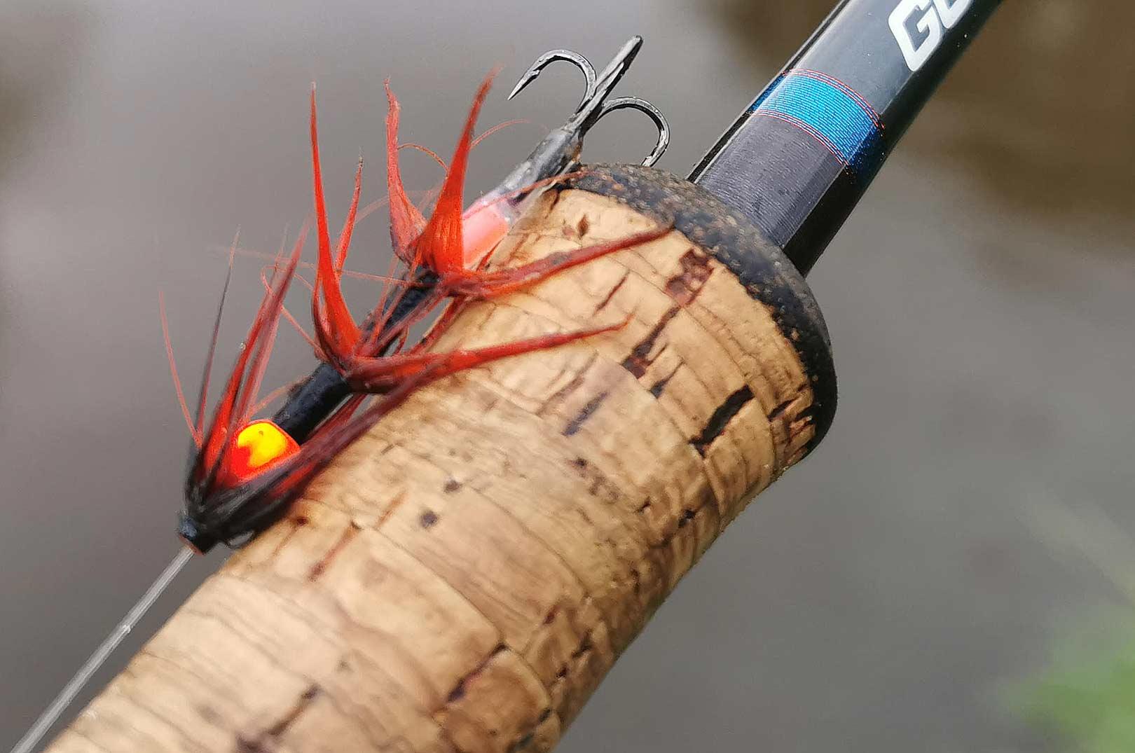Det var denne flue der lokkede Torbens laks til at hugge.