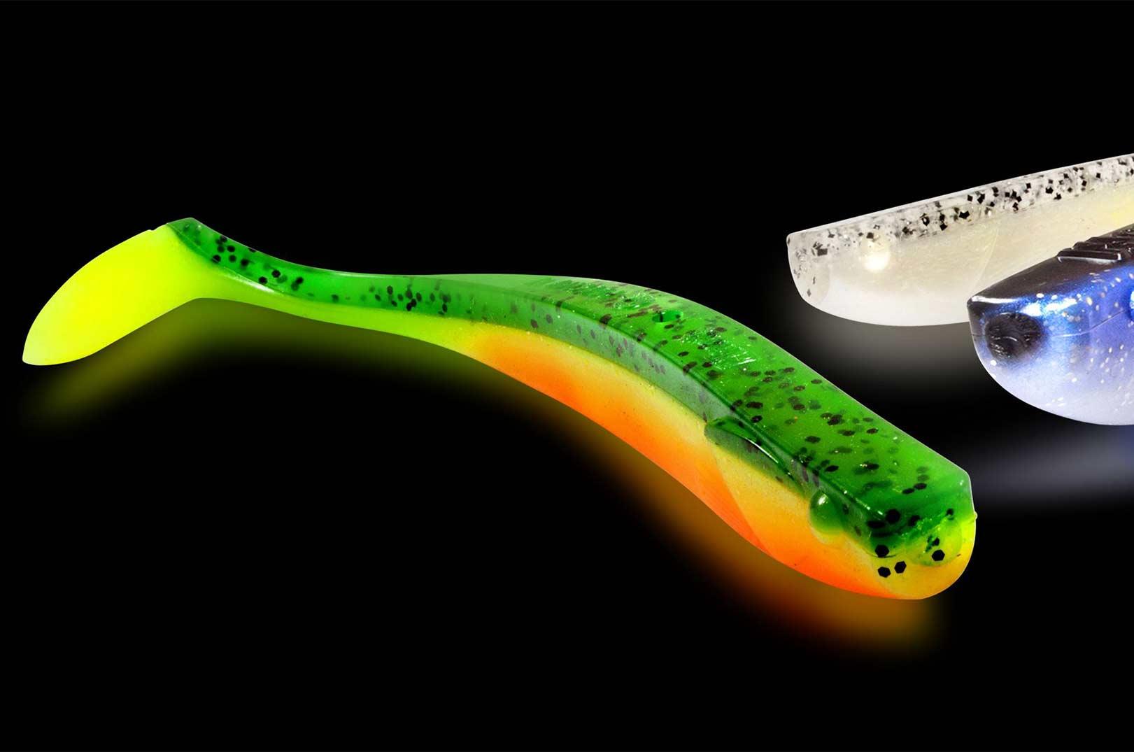 Den nye Q-Paddler fra Quantum er et lækker lille softbait, der også på svære dage vil kunne overliste sky fisk.