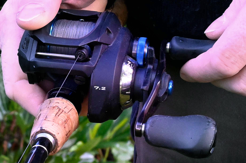 Shimano SLX DC ligger perfekt i hånden - og kaster som en drøm.