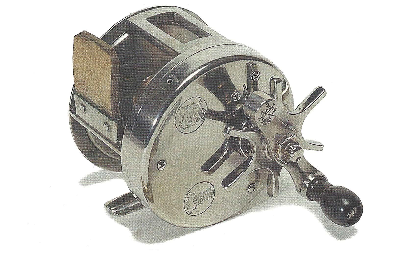 Det legendariske Zane Grey big game hjul fremstillet hos Hardy Brothers.