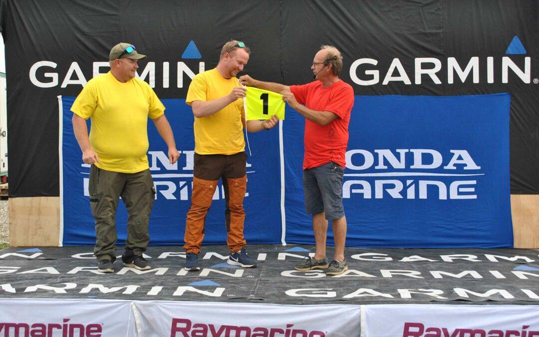 Team Limo løb med førertrøjen på førstedagen af DM i Fladfisk.
