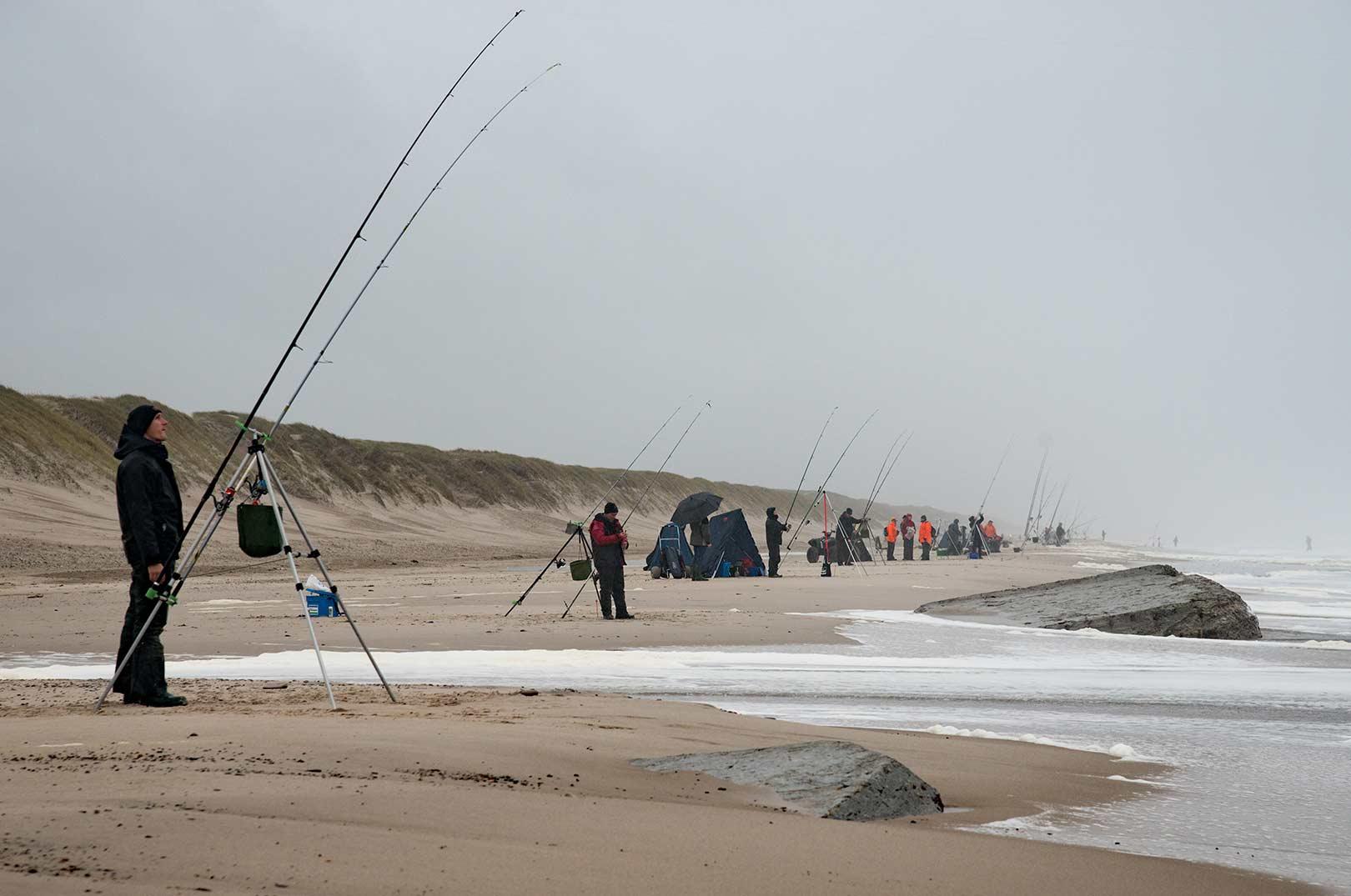 Nordsø Cup er Skandinaviens største surfcasting konkurrence mede deltagere fra hele Europa.