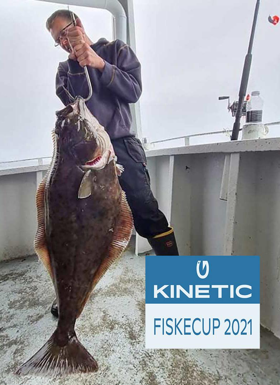 Det var denne seriøste plad, der gav XXXX præmien for saltvandskategorien i Kinetic Fiskecup 2021.