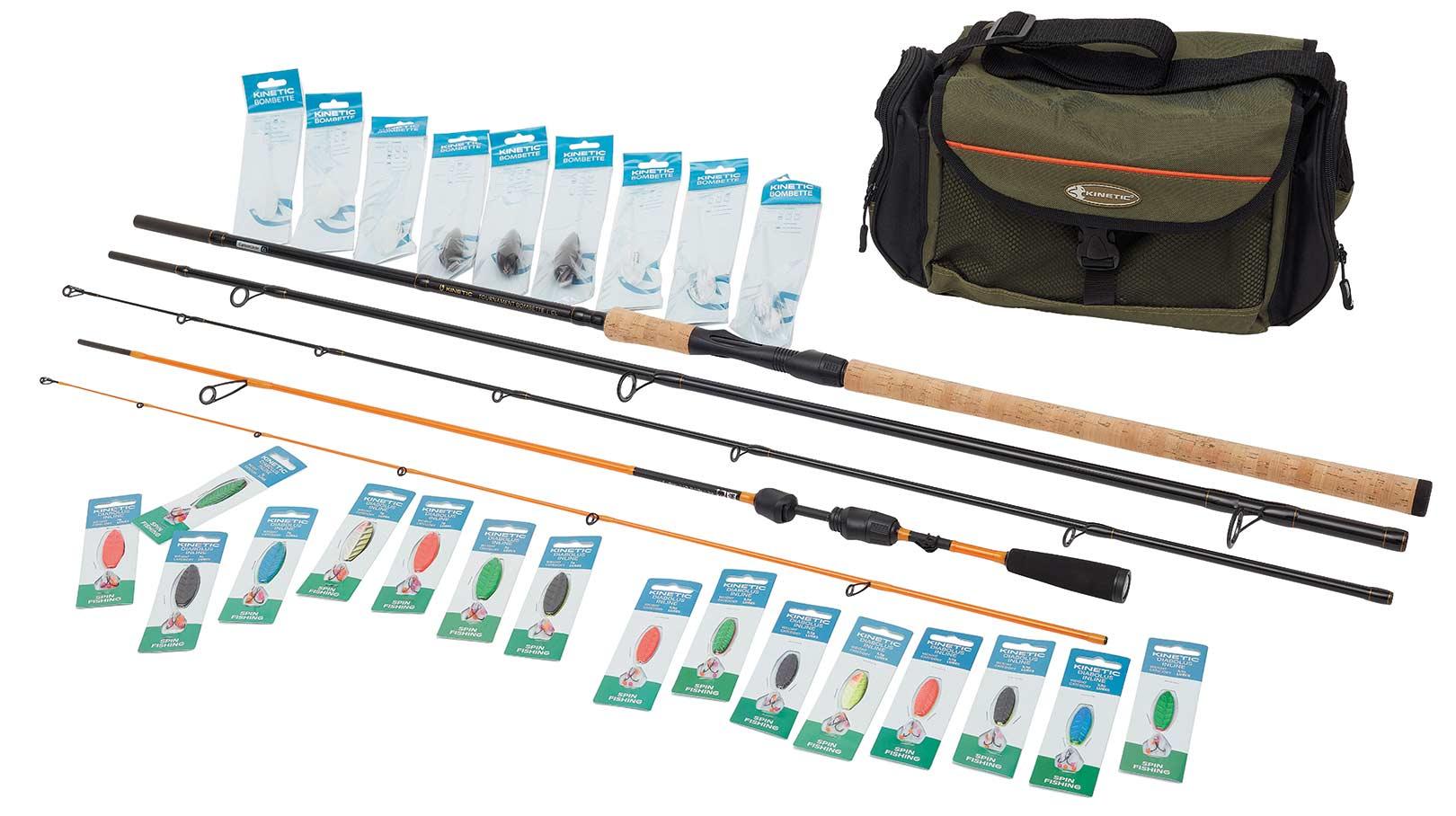 Her kan du se den put and take pakke Jan Munk snart vil modtage fra Kinetic Fishing.
