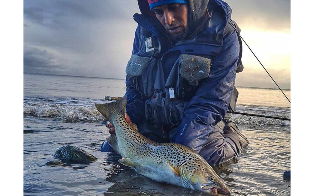 Gorm Andersen med sin flotte fisk
